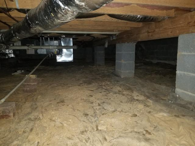 Crawl Space Encapsulation in Scott Depot, WV