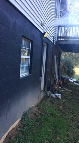 Foundation Repair Project in Normantown, WV - After Photo
