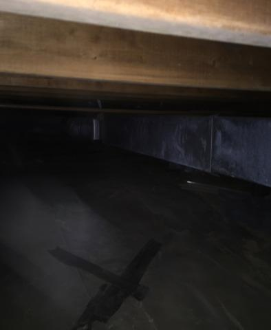 Crawlspace Project in Culloden, WV