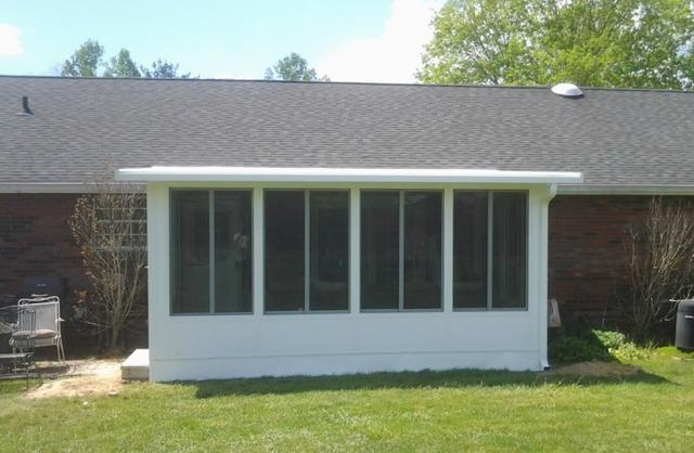 Sunroom Project in Catlettsburg, KY