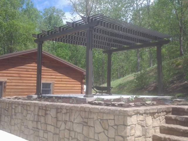 Patio Cover Project in Kenna, WV