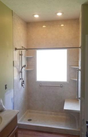 Bath Remodel Project in Chapmanville, WV