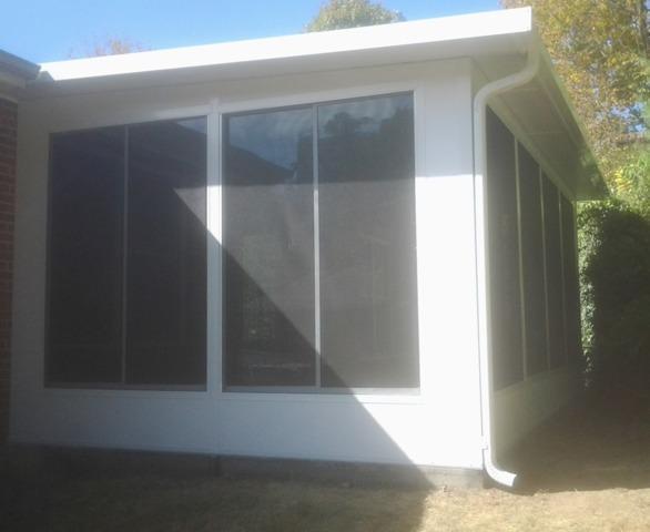 Sunroom Project in Princeton, WV
