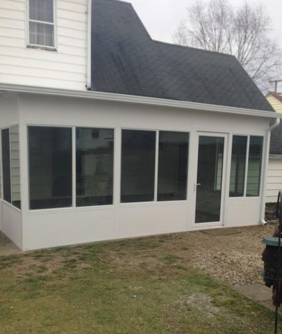 Sunroom Project in Belpre, OH