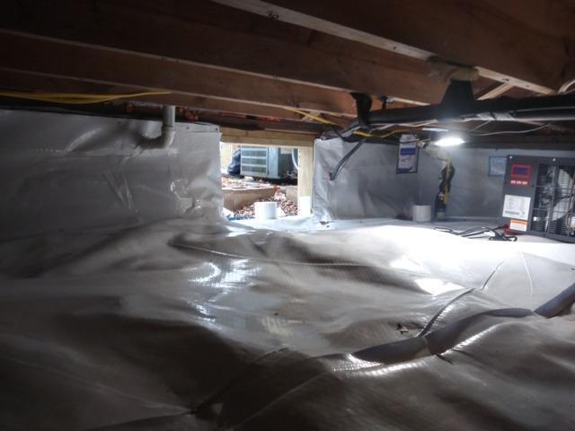 Crawl Space Waterproofing in South Charleston, WV