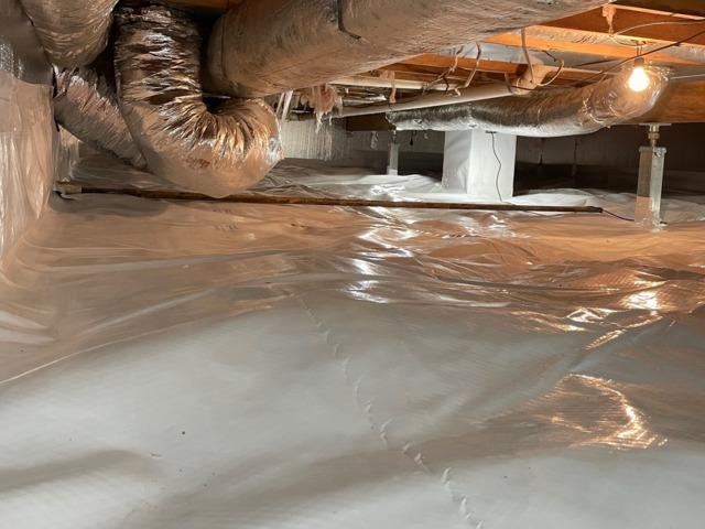 Crawl Space Waterproofing in Clendenin, WV