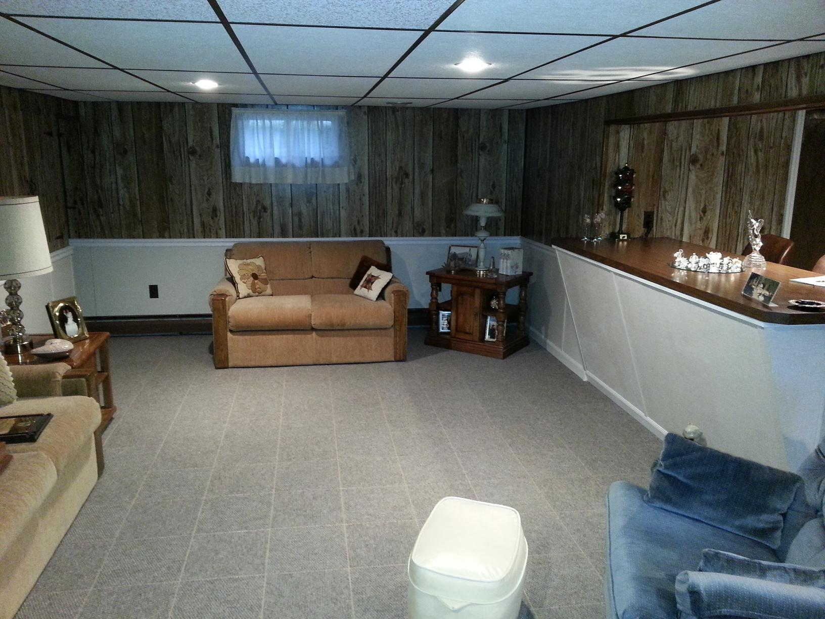 Brewer, Maine Basement Renovation & Waterproofing Project - After Photo