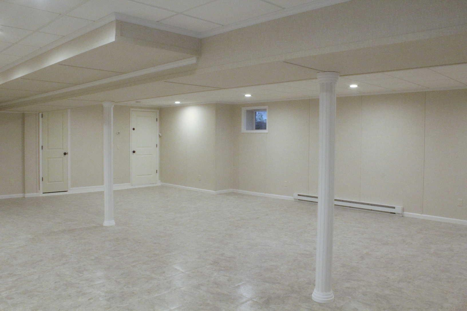 Stunning Bangor, ME Basement Remodel - After Photo