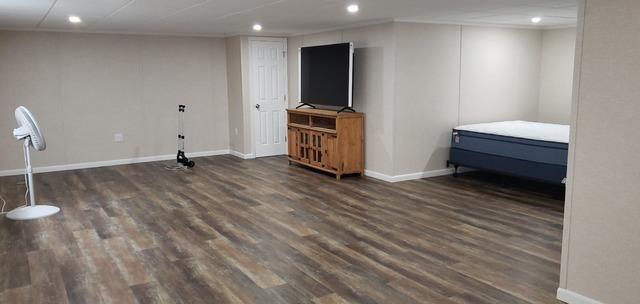 Basement and Bathroom Remodel in Lagrange, ME 04453