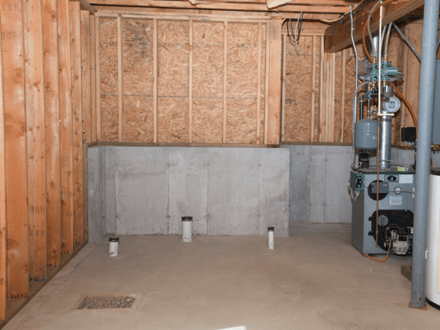 Basement to Bathroom Finish
