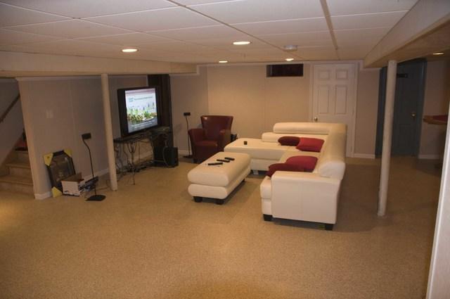 Ben's basement in Milwaukee, WI