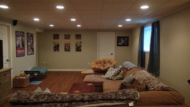 Newly Finished Basement Getaway in Hartford, WI