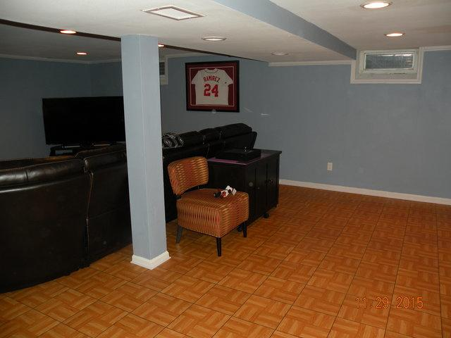 Sports Oasis Finished Basement in New Berlin, WI