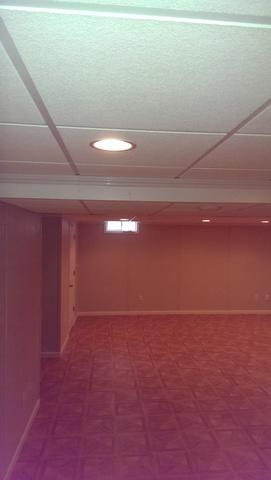Basement Finishing Project in Kenosha, WI