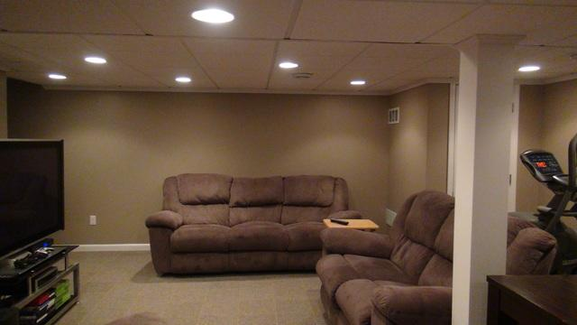 Stunning Basement Finishing Project in South Milwaukee, WI