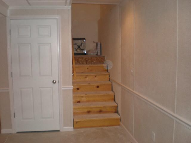 Basement Finishing Project in Port Washington, WI