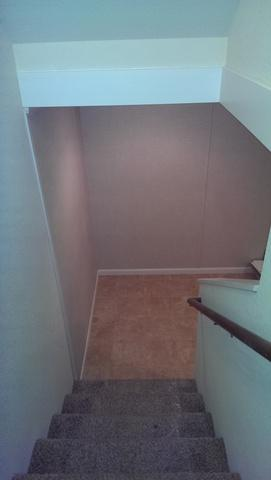 Complete Stairwell Transformation in Sturtevant, WI