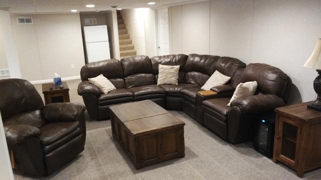 Cozy Family Room Addition in Oak Creek, WI