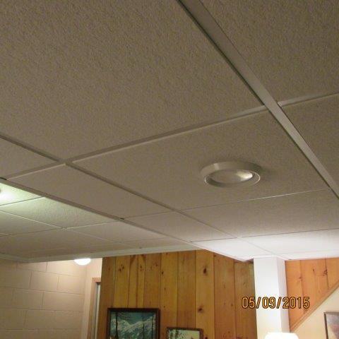 Beautiful Drop Ceiling Project in Oak Creek, WI