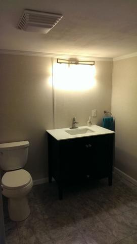 Stunning Half Bathroom Addition in Pleasant Prairie, WI