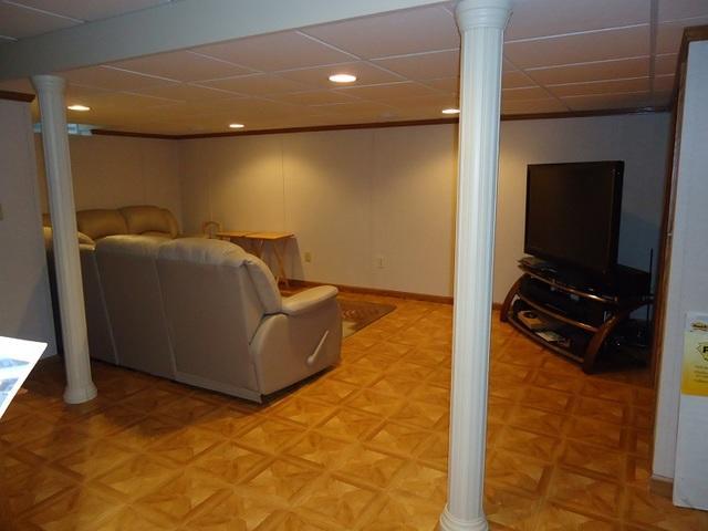 Cozy Rec Room Addition in Hartland, WI