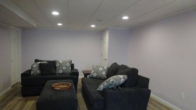 Beautiful Finished Basement in Muskego, WI