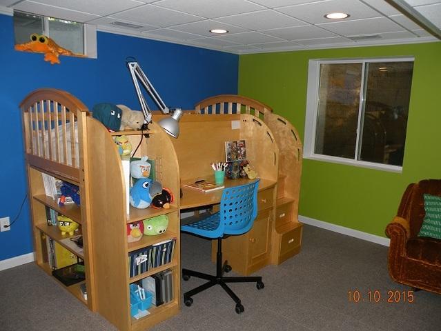 Fun Child's Bedroom Addition in Burlington, WI
