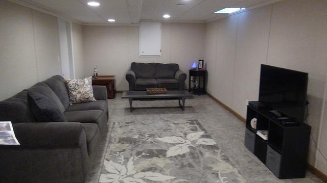 Beautifully Finished Rec Room in Kenosha, WI