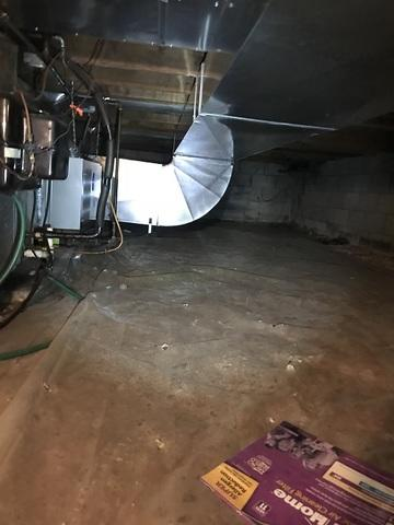Complete Crawlspace Transformation in Thiensville, WI