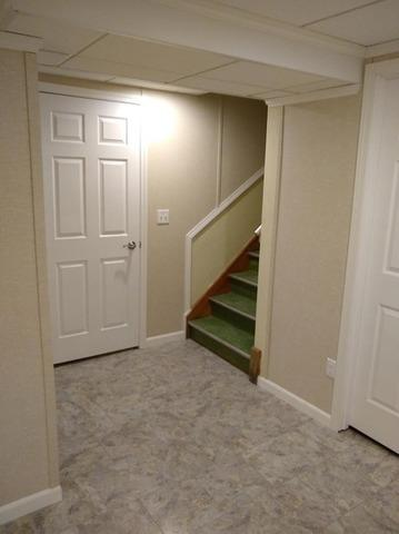 Old and Outdated Basement Transformation in Milwaukee, WI