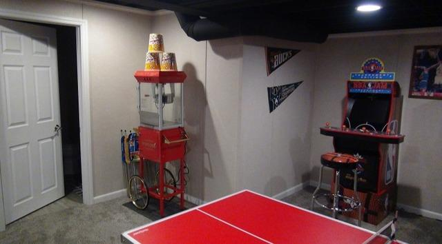 Fun Game and Entertainment Room Addition in New Berlin, WI