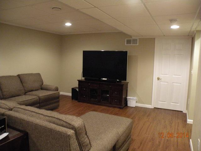 Oak Creek, WI, Now has a Beautiful Basement!