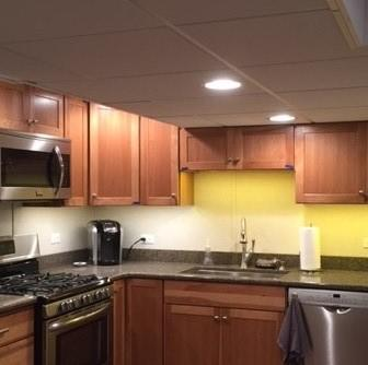 Kitchenette in Finished Basement in Rosemount, IL