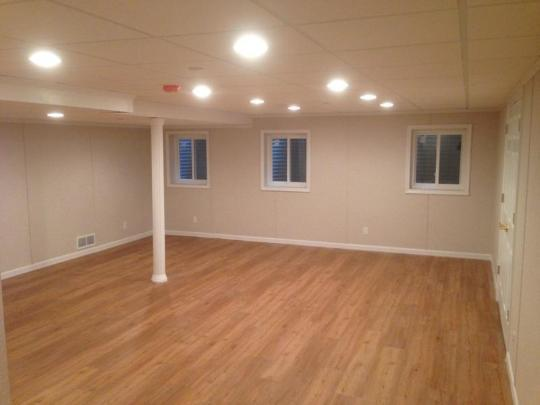 Another finished basement in Long Grove, IL!