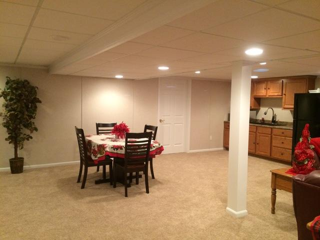 Kathy and Curt from Greenfield, WI are in LOVE with Their New Basement!