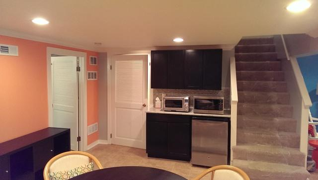 A Newly Organized Basement in Northbrook, IL