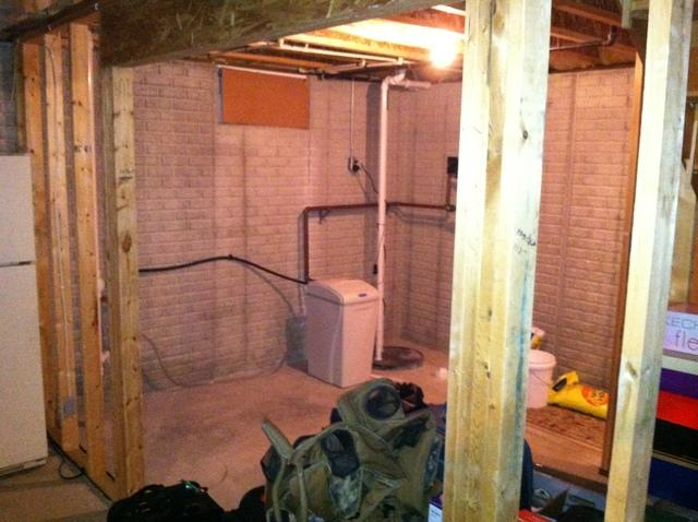 Mechanical Closet Installed In The Basement in Waukesha, WI