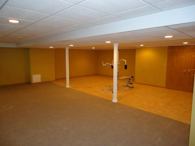 A new basement from Oak Creek!