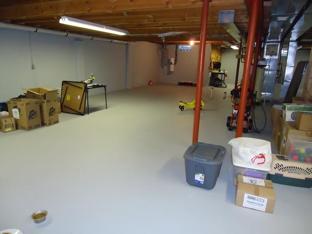Finished Basement Playroom in Waterford, IL