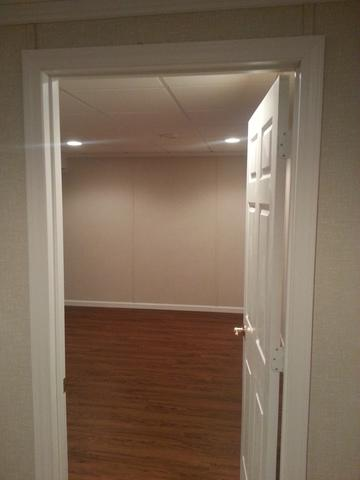 A Beautiful Hardwood Basement in Kenosha, WI