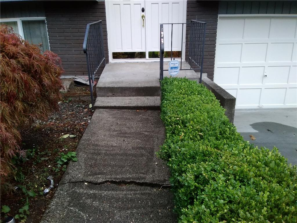 Concrete Lifting in Seattle, WA - Before Photo