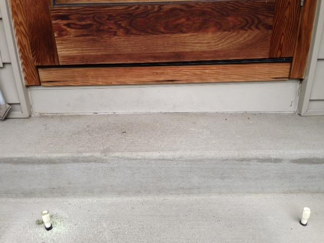 Seattle, WA Concrete Lifting of Front Steps - After Photo