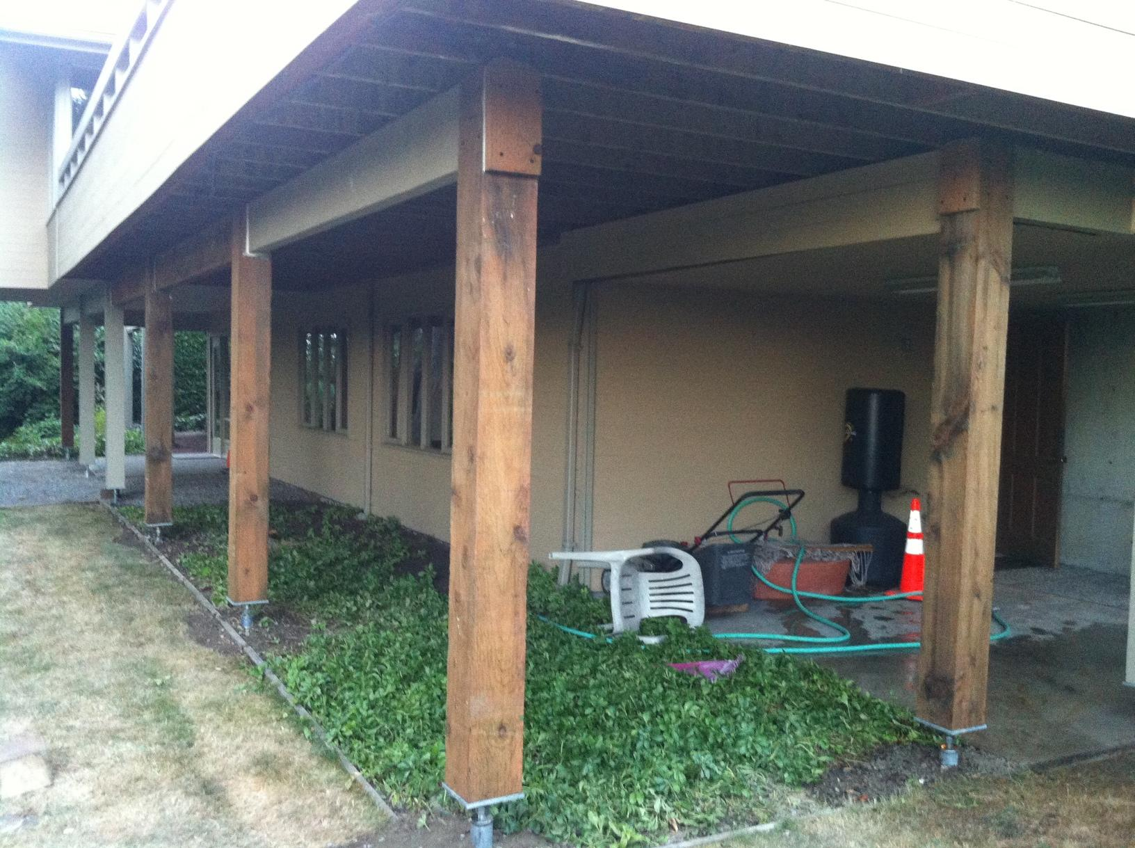 Foundation Repair in Mercer Island, WA - After Photo