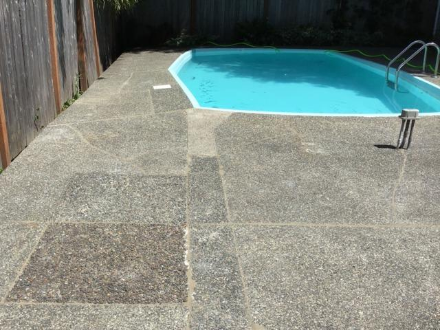Pool Deck Repair using PolyLevel - After Photo