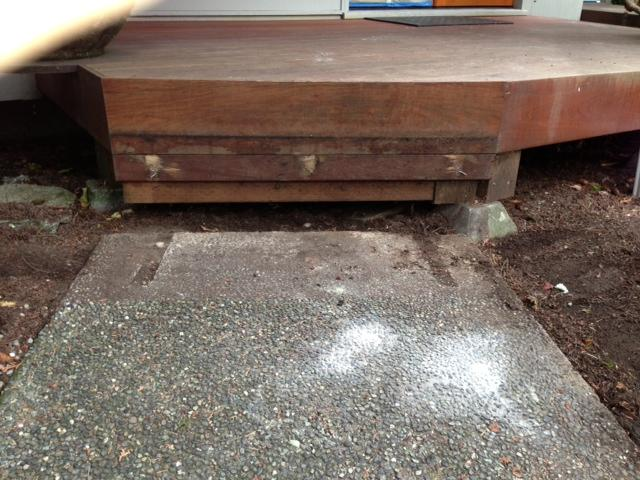 PolyLevel Injection on Walkway in Bellevue, WA