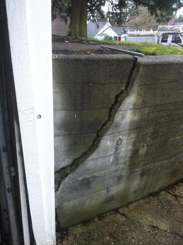 Retaining Wall Repair with Geo-Lock in Seattle, WA