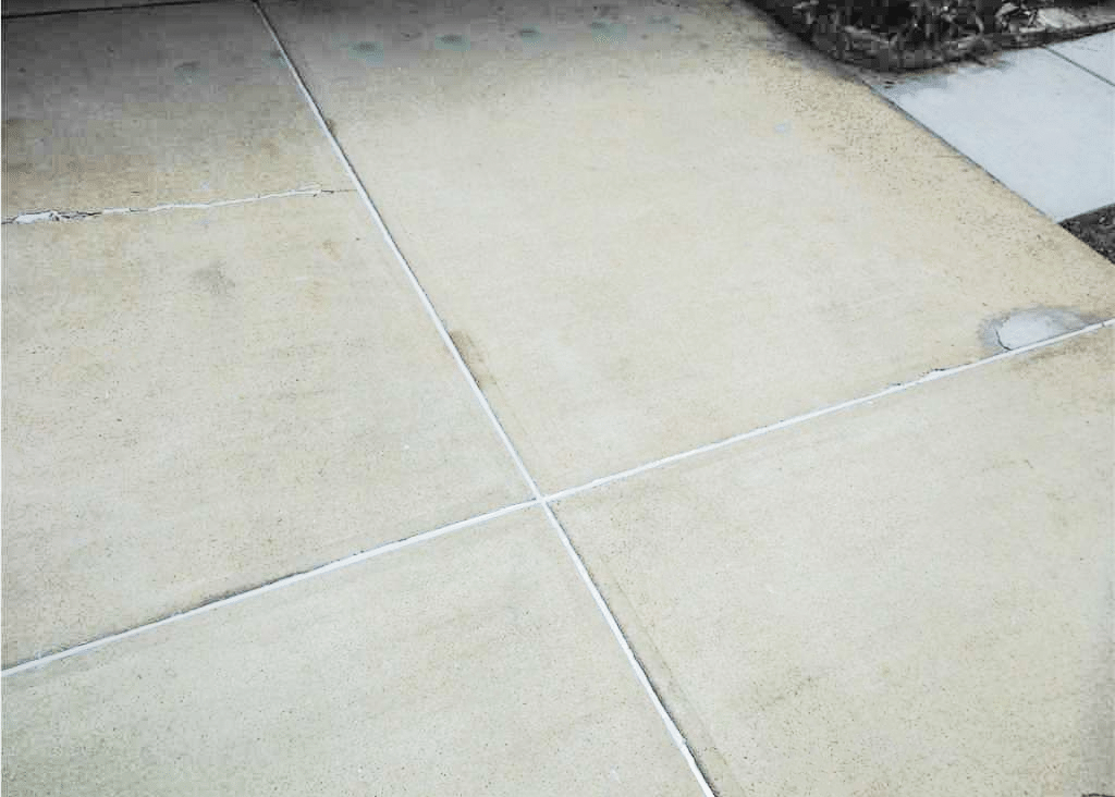 Lifting and Leveling a Driveway in Raleigh, NC - After Photo