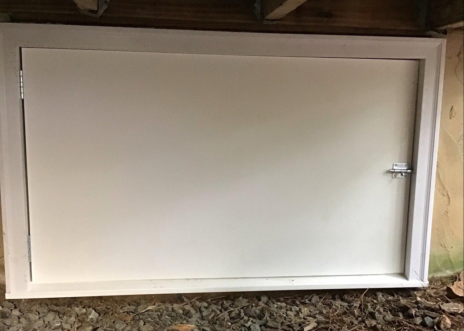 Installing a New Crawl Space Door in Chapel Hill, NC - After Photo