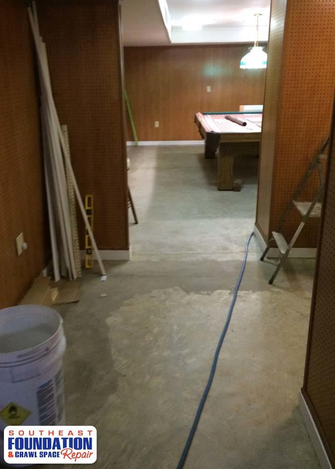 Flooring in Morehead City, NC - Before Photo