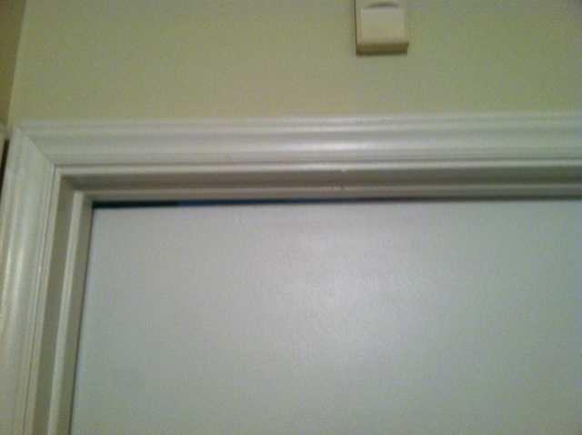 Jammed Door - Before Photo
